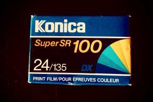Konica Super SR 100 - 135 - 24 Exposures
