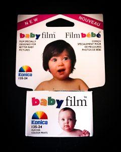Konica Baby Film - ISO 100