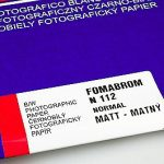 Fomabrom 112 Grade #3 (N) Matte is a black-and-white fiber based photographic paper for general use, coated on a conventional double-weight 280gsm baryta paper base. The paper features high exposure latitude and an outstanding image stability. Due to the built-in natural optical brightener, a brilliant print appearance is achieved. This paper features a very rich half-tone scale over all contrast grades, a flat smooth white paper base and saturated blacks. The paper is manufactured using silver chlorobromide emulsion that gives neutral-to-medium warm tone to the silver image.