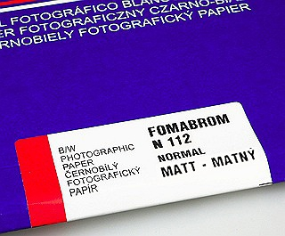 Fomabrom 112 Grade #3 (N) Matte