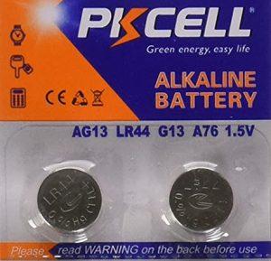 Camera Battery: LR44, CR44, SR44, 357, SR44W, AG13, G13, A76, A-76, PX76, 675, 1166a, LR44H, V13GA, L1154, RW82B, EPX76, SR44SW, 303, SR44, S303, S357, SP303, SR44SW