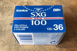 Konica SXG ISO 100