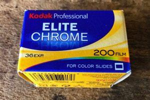 Kodak Professional EliteChrome ISO 200 - Daylight - 135 - 35mm - Brantford Photo Lab - Caffenol Lab