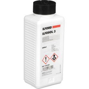 Darkroom Supplies - Ontario - Canada - ILFORD ILFOSOL 3 is a liquid concentrate film developer. Formulated to exploit the full potential of conventional black & white film emulsions, it delivers fine grain and optimal sharpness with full film speed.